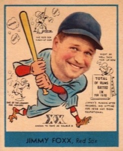 Top 10 Jimmie Foxx Baseball Cards 10