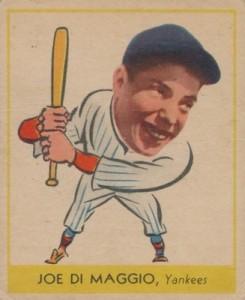 1938 Goudey Baseball Joe DiMaggio 250