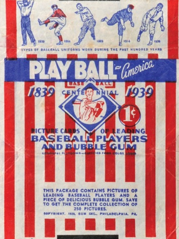 1939 Play Ball Baseball Cards 1