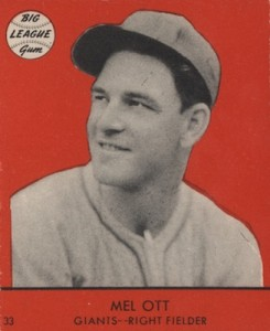 Top 10 Mel Ott Baseball Cards 4