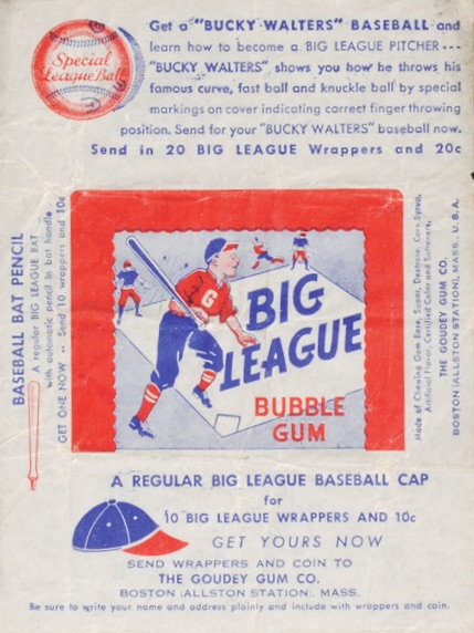 1941 Goudey Baseball Wrapper Pack