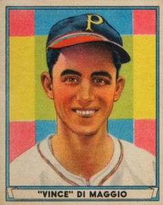 1941 Play Ball Baseball Vince DiMaggio