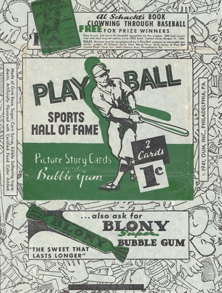 1941 Play Ball Baseball Cards 1