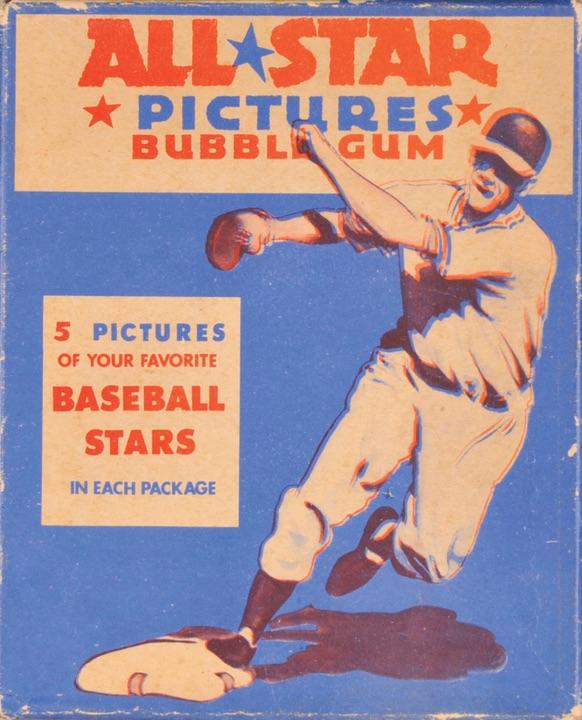 1948-49 Leaf Baseball Display Box