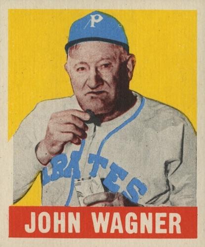 1948-49 Leaf Baseball John Honus Wagner