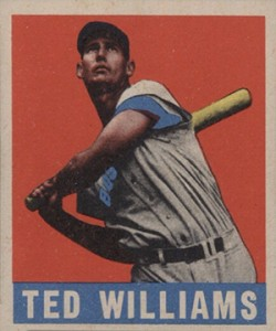 20 Greatest Ted Williams Cards of All-Time 12