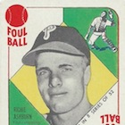 1951 Topps Blue Backs Baseball Cards