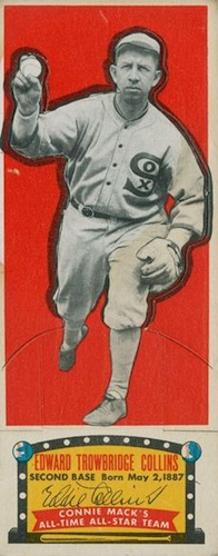 1951 Topps Connie Mack's All-Stars Baseball Eddie Collins