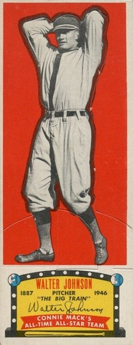 1951 Topps Connie Mack's All-Stars Baseball Walter Johnson