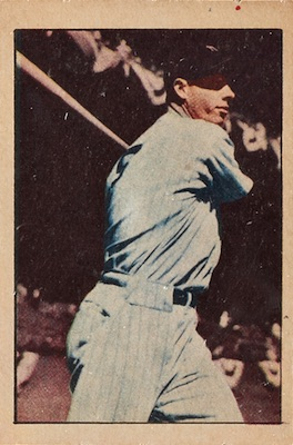 1952 Berk Ross Baseball Cards 31