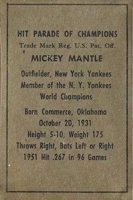1952 Berk Ross Baseball Cards 3