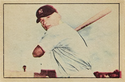 1952 Berk Ross Baseball Cards 1