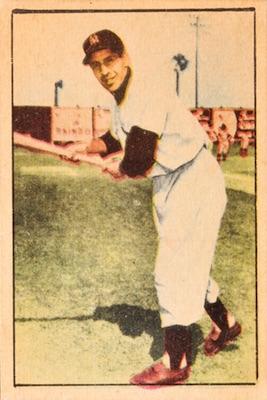 1952 Berk Ross Baseball Cards 4