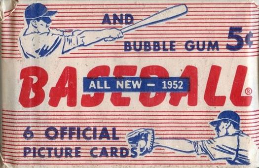 1952 Bowman Baseball Pack Wrapper