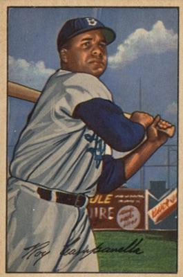 1952 Bowman Baseball Roy Campanella