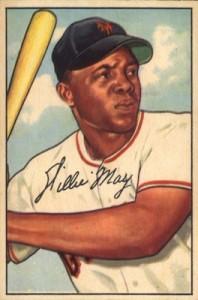1952 Bowman Baseball Willie Mays