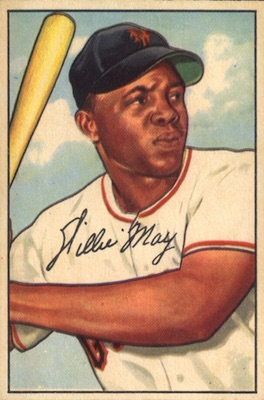1952 Bowman Baseball Willie Mays