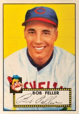 1952 Topps Baseball Bob Feller