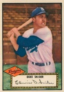 Top 10 Duke Snider Baseball Cards 10
