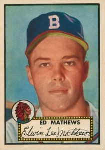 Top 10 Eddie Mathews Baseball Cards 10