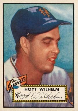1952 Topps Baseball Hoyt Wilhelm RC