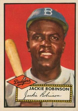 1952 Topps Baseball Jackie Robinson