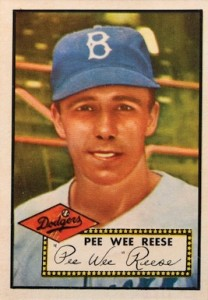 1952 Topps Baseball Pee Wee Reese