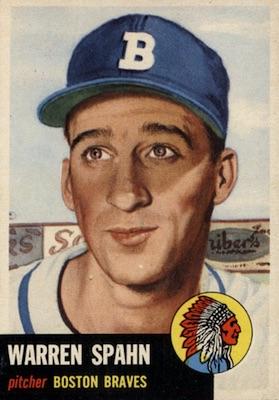 1953 Topps Baseball Cards 10