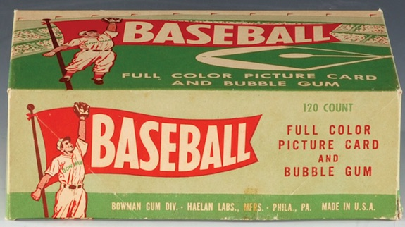 1954 Bowman Baseball Cards 1