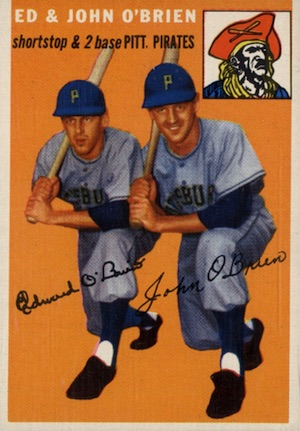 1954 Topps Baseball Cards 7