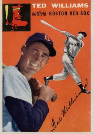 1954 Topps Baseball Ted Williams 1