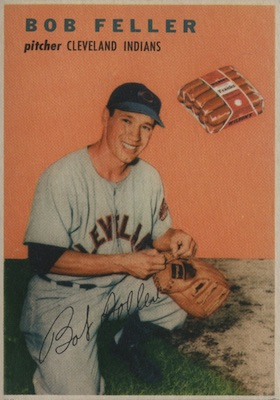 1954 Wilson Franks Baseball Cards 24