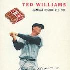 1954 Wilson Franks Baseball Cards