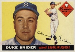 Top 10 Vintage 1955 Baseball Card Singles 2