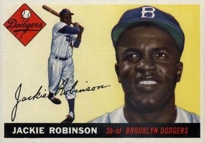 1955 Topps Baseball Jackie Robinson