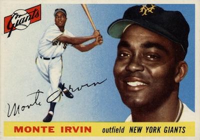 1955 Topps Baseball Monte Irvin