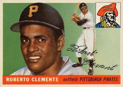 1955 Topps Baseball Roberto Clemente