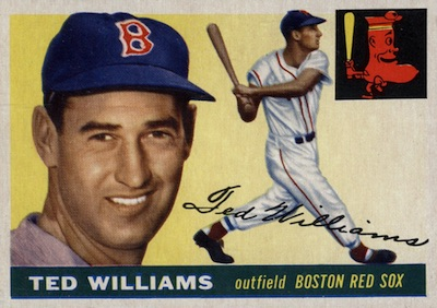 1955 Topps Baseball Ted Williams