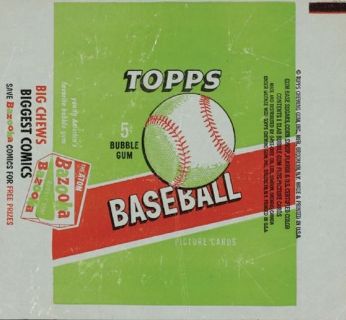 1955 Topps Baseball Wrapper Pack