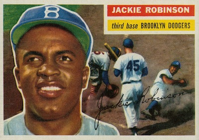 1956 Topps Baseball Jackie Robinson