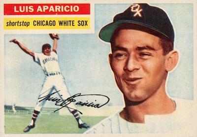 1956 Topps Baseball Luis Aparicio RC