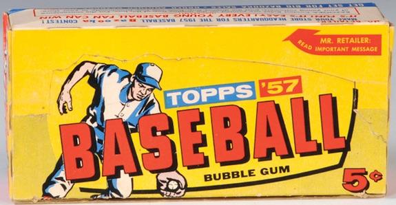 1957 Topps Baseball Cards 1
