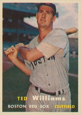1957 Topps Baseball Ted Williams RC