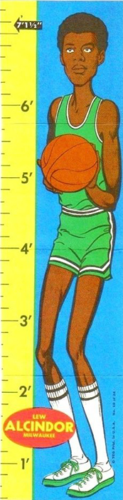 1969-70 Topps Rulers Basketball Cards 1