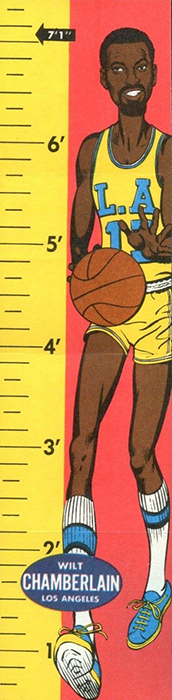 1969-70 Topps Rulers Basketball Cards 21