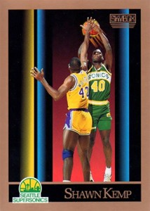 1990-91 SkyBox Basketball Shawn Kemp RC