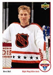 1991-92 Upper Deck McDonald's Hockey Cards 24