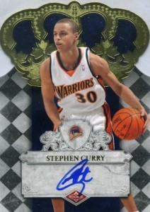 2009-10 Crown Royale #103 Autograph Stephen Curry RC