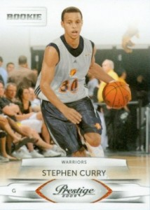 2009-10 Prestige #207 Stephen Curry RC
