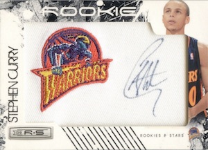 2009-10 Rookies & Stars #136 Autograph Stephen Curry RC